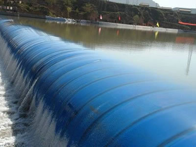 Water Inflatable Rubber Dam For Flood Control